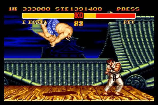 Street fighter 2 megadrive