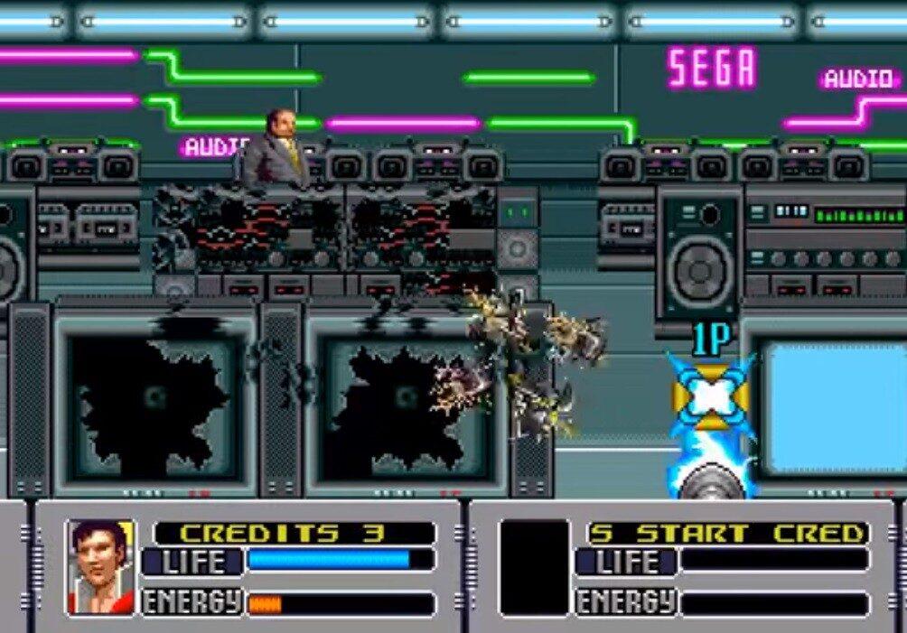 Alien Storm Mega drive