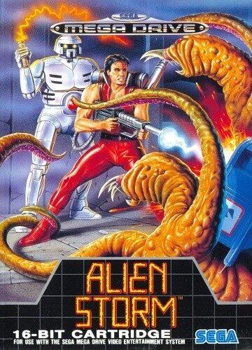 Alien storm Megadrive portada